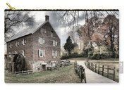 Stormy Skies Over The 1823 Grist Mill Carry-all Pouch