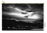 Stormy Sky - Lightening - Small Town Carry-all Pouch