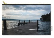 Stormy Sky Over Seneca Lake Carry-all Pouch