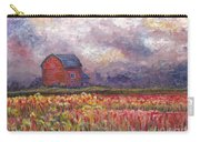 Stormy Sunflower Farm Carry-all Pouch