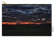 Stormy Sunset Carry-all Pouch by Miguel Winterpacht