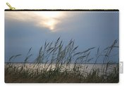 Stormy Sunset Prince Edward Island II Carry-all Pouch by Micheline Heroux