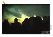 Stormy Sunset - New York City Skyline Carry-all Pouch