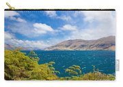 Stormy Surface Of Lake Wanaka In Central Otago On South Island Of New Zealand Carry-all Pouch