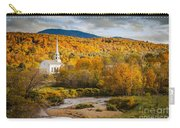 Stowe Church At Sunset Carry-all Pouch