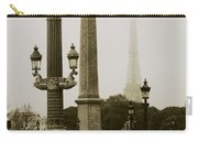 Straight Lines In Paris Carry-all Pouch