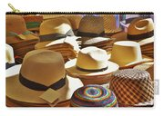 Straw Hats Carry-all Pouch