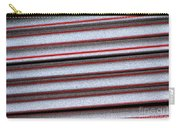 Straw Red Carry-all Pouch