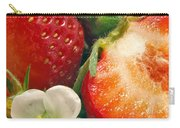 Strawberries And Vanilla Carry-all Pouch