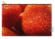 Strawberries Background Carry-all Pouch