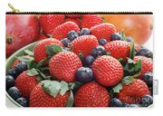 Strawberries Blueberries Mangoes - Fruit - Heart Health Carry-all Pouch