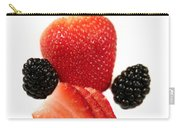Strawberry Blackberry Carry-all Pouch