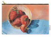 Strawberry Bowl Carry-all Pouch