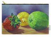 Strawberry Citrus Carry-all Pouch