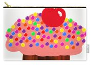 Strawberry Cupcake Carry-all Pouch by Andee Design