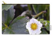 Strawberry Flower Carry-all Pouch