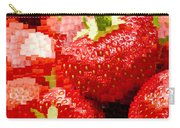 Strawberry Mosaic Carry-all Pouch