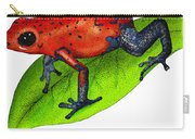 Strawberry Poison-dart Frog Carry-all Pouch