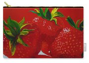 Strawberry Red Carry-all Pouch