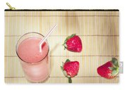 Strawberry Smoothie Carry-all Pouch