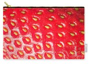 Strawberry Texture Carry-all Pouch