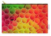 Straws In Color Carry-all Pouch