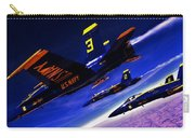 Streaking Blues Carry-all Pouch by Benjamin Yeager