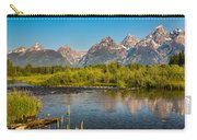Stream At The Tetons Carry-all Pouch