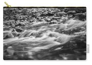 Stream Fall Colors Great Smoky Mountains Painted Bw  Carry-all Pouch