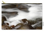 Stream Flowing  Carry-all Pouch by Les Cunliffe