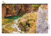 Stream In The Mountains Carry-all Pouch