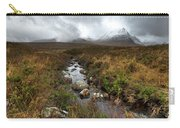 Stream On Rannoch Moor  Carry-all Pouch