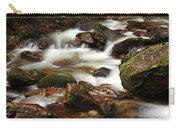 Stream Running Over Rocks Carry-all Pouch