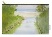 Stream Running To The Ocean Carry-all Pouch