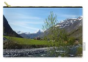 Stream To The Fjord Carry-all Pouch