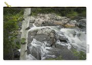 Stream With Waterfall In Vermont Carry-all Pouch