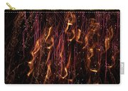 Streams Of Gold And Purple Carry-all Pouch