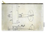 1929 Stearman Patent Drawing Carry-all Pouch