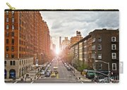 Street As Seen From The High Line Park Carry-all Pouch