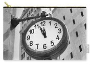 Street Clock Carry-all Pouch