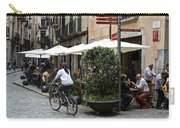 Street Corner Girona Spain Carry-all Pouch