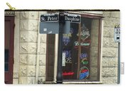 Street Corner In New Orleans Carry-all Pouch