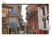 Street In Bhaktapur-city Of Devotees-nepal  Carry-all Pouch