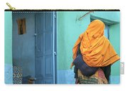 Street In Harar Ethiopia  Carry-all Pouch