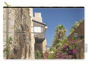 Street In Jaffa Tel Aviv Israel Carry-all Pouch