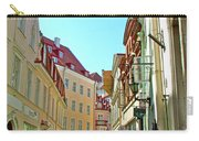 Street In Old Town Tallinn-estonia Carry-all Pouch