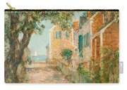 Street In Provincetown Carry-all Pouch by  Childe Hassam