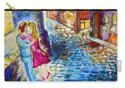 Street Kiss By Night  Carry-all Pouch