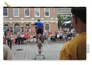 Street Performer Faneuil Hall Market Boston Carry-all Pouch