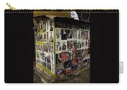 Street Photographer's Shed Icons Us/mexico Border Nogales Sonora  Mexico 2003 Carry-all Pouch